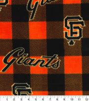 San Francisco Giants Fleece Fabric-Buffalo Plaid, , hi-res