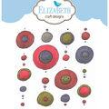 Elizabeth Craft Designs Clear Stamp-Circles Background