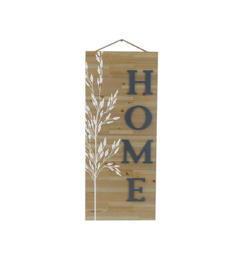 Simply Autumn Large Wood Wall Decor-Home
