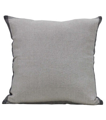Camp Ann 18''x18'' Linen Pillow-Natural