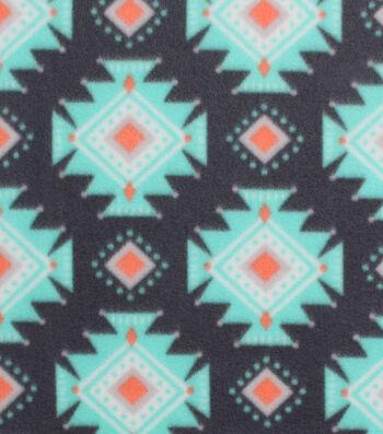 "Blizzard Fleece Fabric 59""-Breeze Aztec"