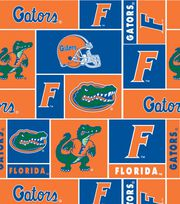 University of Florida Gators Fleece Fabric 58''-Block, , hi-res
