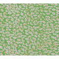Keepsake Calico Cotton Fabric-Green Tiny Picked Flowers