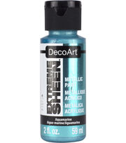 DecoArt Extreme Sheen Metallic Paint 2oz, , hi-res