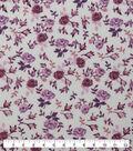 Keepsake Calico Cotton Fabric-Packed Floral Mauve