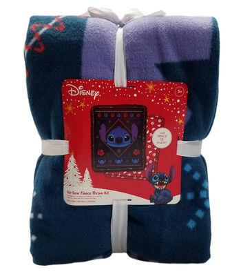 """Disney No Sew Fleece Throw 72""""-Sitch Sweater"""