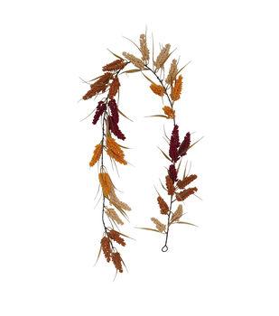 Blooming Autumn Heather Garland-Multi