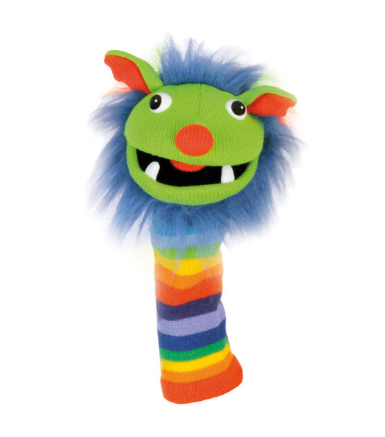 Rainbow Knitted Puppet, Grade Pre K 12, , hi-res, image 1