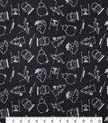 Star Wars Flannel Fabric 42\u0022-Constellation