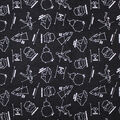 Star Wars Flannel Fabric-Constellation