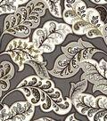 HGTV Home Upholstery Fabric 55\u0022-Deco Drama Zinc