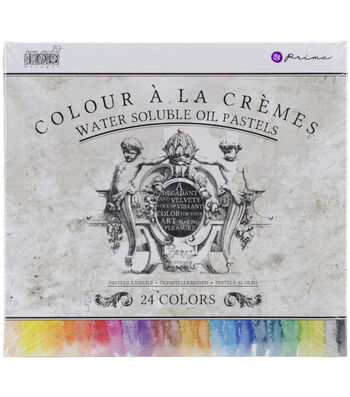 Prima Marketing 24ct Water Soluble Oil Pastels