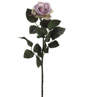 "Bloom Room 27.5"" Confetti Rose Stem-Lavendar"