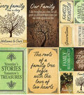 Family Tree Poster Stickers 12\u0022X12\u0022