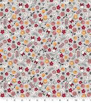 Disney Cotton Fabric-Minnie Floral, , hi-res