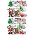 Carson Dellosa Dazzle Stickers Christmas, 105 Per Pack, 12 Packs
