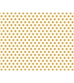 American Crafts We R Memory Keepers 22''x28'' Poster Board-Gold Dots