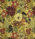 Home Decor 8\u0022x8\u0022 Fabric Swatch-Print Fabric Robert Allen Lilith Chutney