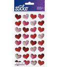 Sticko - Red Bubble Hearts