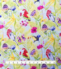 Cotton Shirting Tropical Fabric 57\u0022-Bird Life