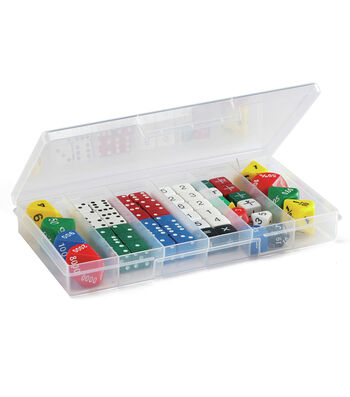 Learning Advantage Classroom Dice Set, 56 Pieces