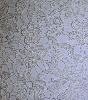 Gianna All Over Heavy Embroidered Lace Fabric 52''