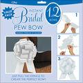 Perfect Bow 8\u0022 12/Pkg- White