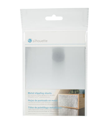 Silhouette of America 6 Pack 5''x7'' Curio Metal Stippling Sheets