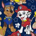 Nickelodeon Junior Paw Patrol Fleece Fabric-Packed on Navy