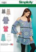 Simplicity Pattern 1161A Xs-S-M-L-X-Tops Vest Jkts Co