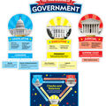 Our Government: Bulletin Board Set