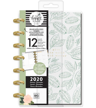 The Happy Planner Girl Deluxe Mini 2020 Dated Planner-Homebody
