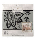 Buttercream Collection Large Stencil-Paisley Blossom