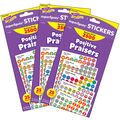 Positive Praisers superSpots Stickers Variety 2500 Per Pack, 3 Packs