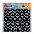 Ranger Dyan Reaveley\u0027s Dylusions Small Stencil-Fishtails