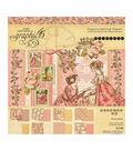 Graphic 45 Double-Sided Paper Pad 8\u0022X8\u0022 24/Pkg-Princess, 8 Designs