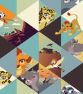 Disney Lion Guard Cotton Fabric 43\u0027\u0027-Adventures Run Wild