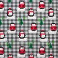 Super Snuggle Flannel Fabric-Arctic Penguins