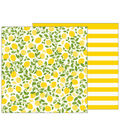 Pebbles Jen Hadfield Patio Party Double-Sided Cardstock-Citrus Sweet