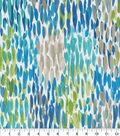 Kelly Ripa Home Outdoor Fabric 9\u0022x9\u0022 Swatch-Make It Rain Cerulean