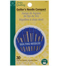 Dritz-Quilting Quilting Needle Compact 30pcs