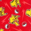 Pokemon Fleece Fabric-Pikachu Bolt