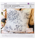 Prima Marketing Iron Orchid Designs 6 pk Decor Clear Stamps-Floral