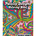Adult Coloring Book-Dover Publications Paisley Designs