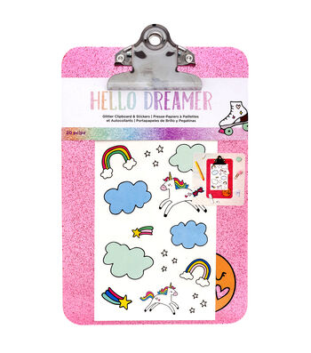 American Crafts Hello Dreamer Clipboard