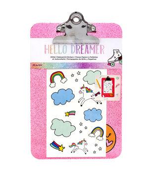 American Crafts Hello Dreamer Clipboard