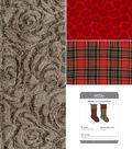 It\u0027s Sew Simple Handmade Holiday Fresh Cut Stocking Kit