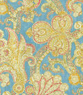 Waverly Upholstery Fabric 54\u0022-Grand Gesture/Aegean