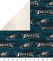 Philadelphia Eagles Sherpa & Fleece Fabric, , hi-res