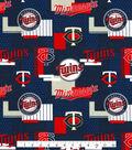 Minnesota Twins Cotton Fabric -Patch